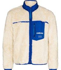 ambush fleece zip-up jacket - neutrals
