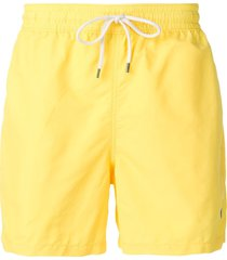 polo ralph lauren traveler swim shorts - yellow