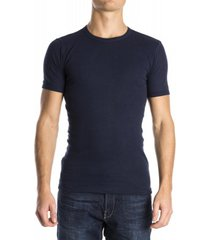 beeren men t-shirt ronde hals blauw (3 pack)