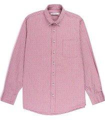 camisa casual manga larga a cuadros regular fit para hombre 75339