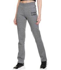 pantalon basic casual two gris everlast