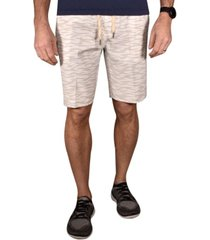 men's tiger print hybrid windjammer shorts