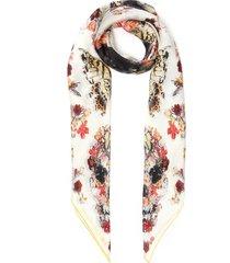 botanical print paisley shawl