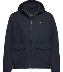 double pocket jacket dun jack blauw lyle & scott