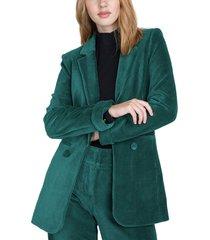 blazer io  liso verde - calce regular