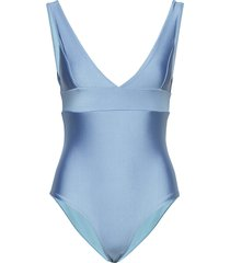 ginza-swim baddräkt badkläder blå storm & marie