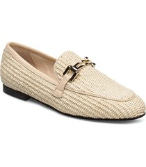 penny loafers låga skor beige nude of scandinavia