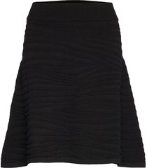 solaina knälång kjol svart hugo