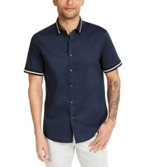 inc men's knit track shirt, created for macy's