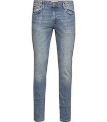 slhslim-leon 3020 l.blue st jeans w noos slimmade jeans blå selected homme