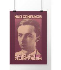 poster malandragem