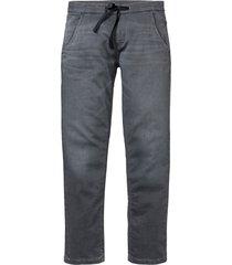 jeans elasticizzati slim fit straight (grigio) - john baner jeanswear