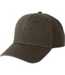 allsaints ramskull baseball cap in khaki brown at nordstrom