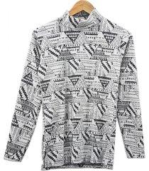 sweater gris mecano chenille plus size