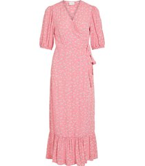 maxiklänning vikidda s/s dress