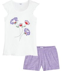pigiama estivo (bianco) - bpc bonprix collection