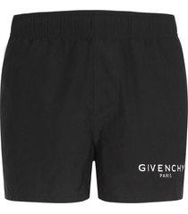 givenchy givenchy logo swim shorts