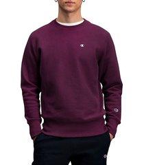 champion men's ribbed cotton-blend sweatshirt - tourmaline - size xxl