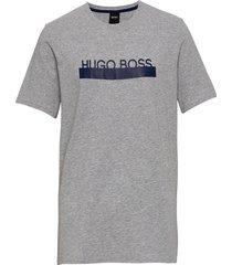 identity t-shirt rn t-shirts short-sleeved grå boss