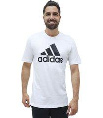 camiseta essentials logo adidas