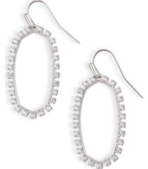 women's kendra scott elle cubic zirconia earrings