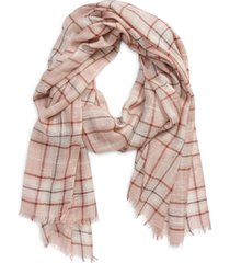 women's treasure & bond women's relaxed scarf, size one size - pink
