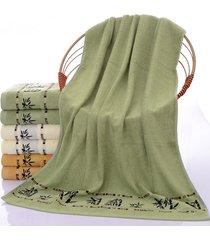 practical-bamboo-fiber-soft-army-green-bath-towel-absorbent-beach-towel-bamboo-p
