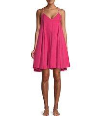 scala cupro dress