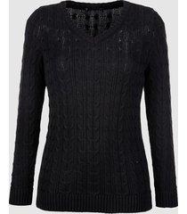trui dress in zwart