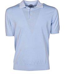 fedeli classic-fit elastic waistband polo shirt