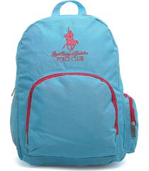 morral  azul turquesa-fucsia royal county of berkshire polo club