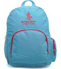 morral  azul turquesa-fucsia royal county of berkshire polo club