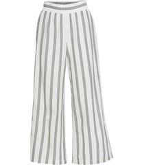 pantaloni culotte a righe (nero) - rainbow