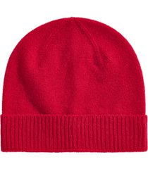 club room men's cashmere beanie, created for macy's