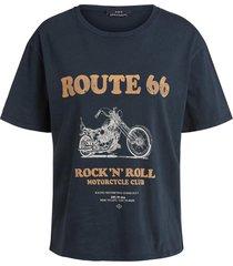 rock en roll t-shirt bo  zwart