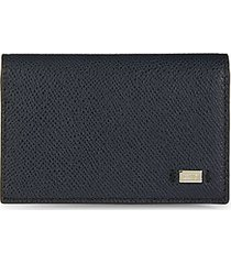 foldover leather wallet