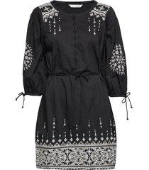 puffy toughie dress knälång klänning svart odd molly