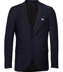 jonathan stretch blazer colbert blauw matinique