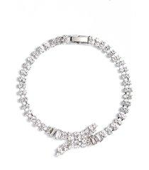 women's cristabelle crisscross line bracelet