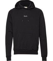 bison hoodie sweat-shirts & hoodies hoodies zwart forét