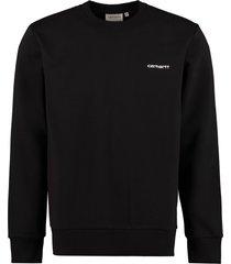 carhartt embroidered logo crew-neck sweatshirt
