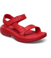 w hurricane drift shoes summer shoes flat sandals röd teva