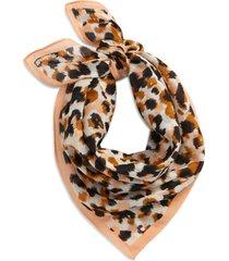 women's madewell bandana, size one size - orange