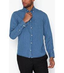 nn.07 levon bd 5767 skjortor light blue