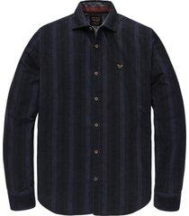 overhemd corduroy donkerblauw