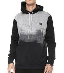 moletom quiksilver especial moline stripes hoodie masculino