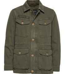 moorea field jacket tunn jacka grön morris