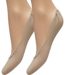 th women ballerina step 2p lingerie socks footies/ankle socks beige tommy hilfiger