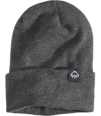 wolverine fleeced lined knit watch cap charcoal heather, size one size