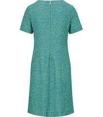 jurk met korte mouwen van st. emile multicolour